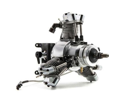 Saito Engines FG-19R3 19cc 3-Cylinder Radial Gasoline Engine