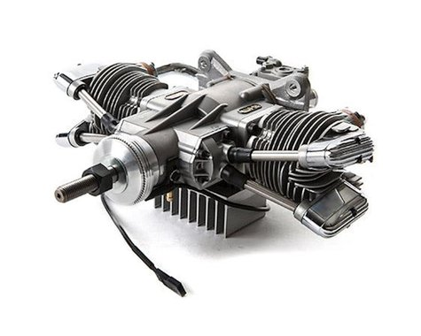 Saito Engines 61cc 4-Stroke Gas Twin Engine (CC)