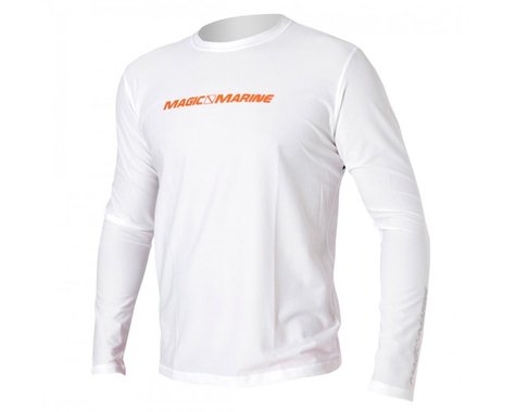 Magic Marine Cube Quick Dry Long Sleeve, White (L)