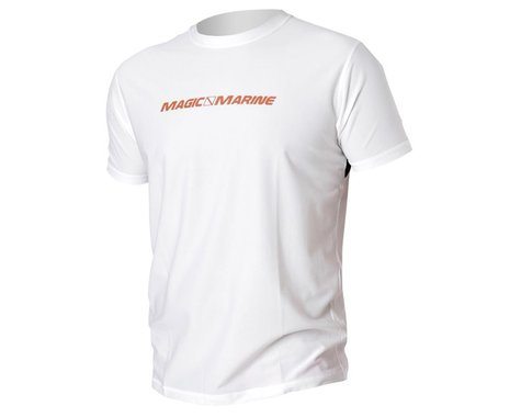 Magic Marine Cube Quick Dry Top Short Sleeve White (M)