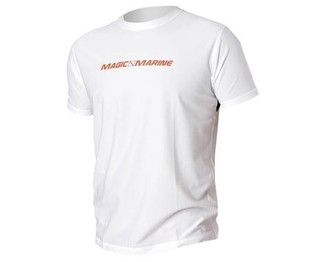 Magic Marine Cube Quick Dry Top Short Sleeve White (XL)