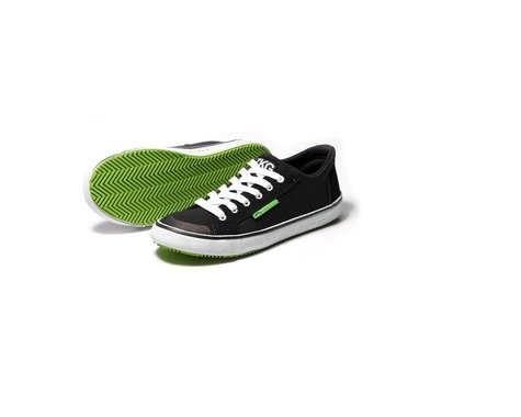 Zhik ZKG Shoe - Black/Green (8)