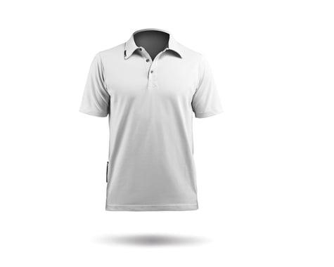 Zhik PolyCotton Short Sleeve Polo Shirt (White)