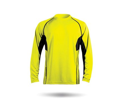 Zhik ZhikDry Long Sleeve Shirt (HIVIS Yellow)