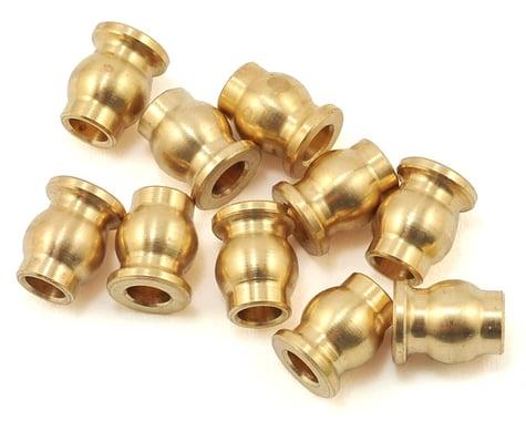 Samix Brass 5.8mm Flanged Pivot Ball (10)