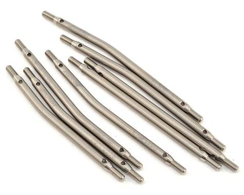 Samix SCX10 313mm High Clearance Titanium Link Kit (8)