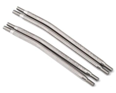 Samix SCX10 II 305mm High Clearance Titanium Rear Suspension Links (4)