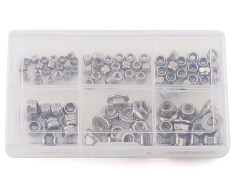 Samix Stainless Steel Lock Nut Set w/Storage Box (90)