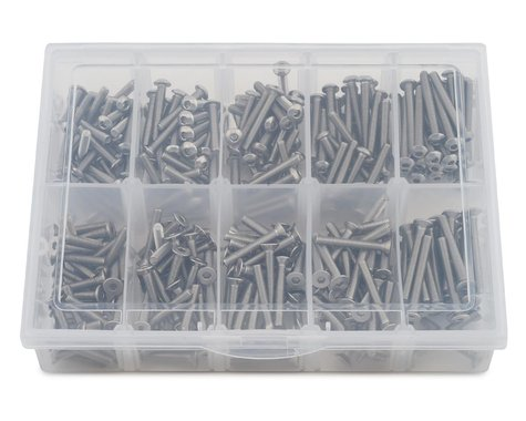 Samix Long Stainless Steel M3 Screw Set w/Plastic Box (300)