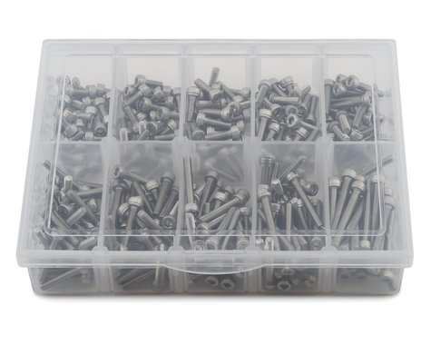 Samix Stainless Steel M3 Screw Set w/Plastic Box (300)