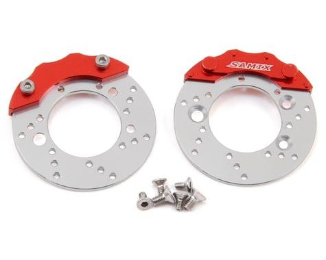 Samix TRX-4 Scale Brake Rotor & Caliper Set