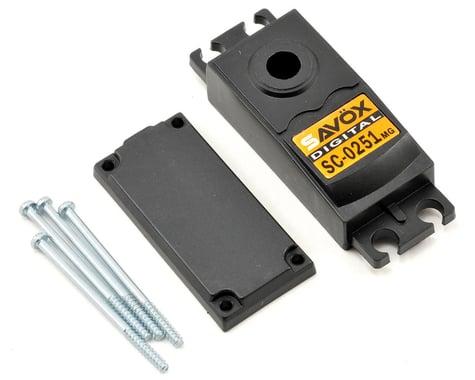 Savox SC0251 Upper/Lower Case Set w/Hardware
