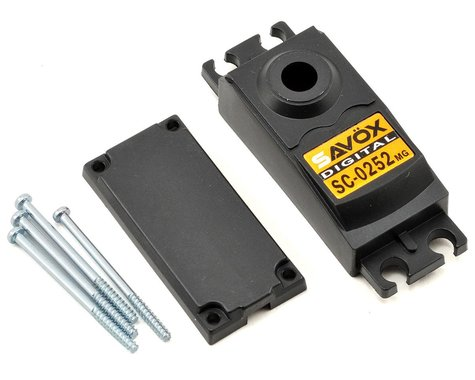 Savox SC0252 Upper/Lower Case Set w/Hardware