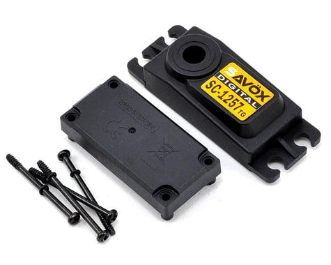 Savox SC1257TG Upper/Lower Case Set w/Hardware