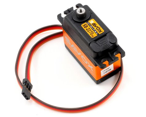 Savox SB-2270SG Monster Torque Brushless Steel Gear Servo (High Voltage)
