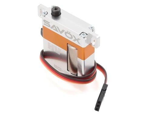 Savox SG-1211MG High Torque Glider Wing Servo w/Aluminum Case (High Voltage)