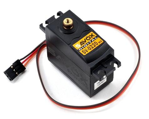 Savox SV-0220MG Standard Digital Metal Gear Servo (High Voltage)
