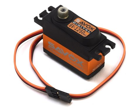 Savox SV-1250MG Digital Metal Gear Micro Tail Servo (High Voltage)