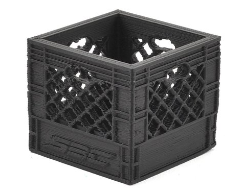 Scale By Chris Medium Milk Crate (Black)