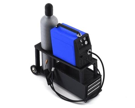 Scale By Chris Complete Welding Cart w/Welder (Blue)