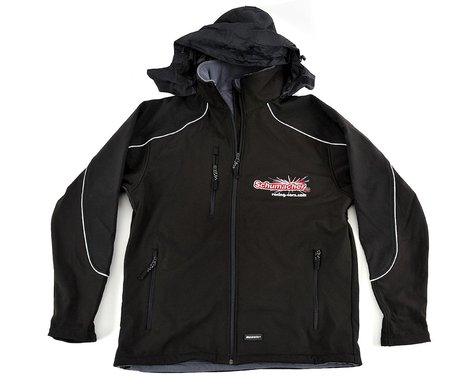 Schumacher Black 3 Layer Softshell Jacket (M)