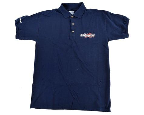 Schumacher Polo T-Shirt (Navy Blue) (XL)
