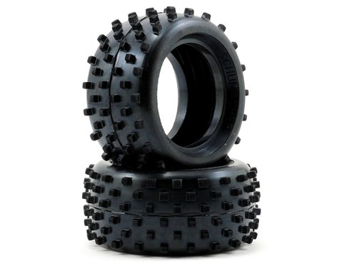 "Schumacher ""Block"" 1/10 Buggy Rear Carpet Tires (2) (Blue)"