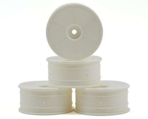 "Schumacher 12mm Hex Rev-Lite ""Flex"" Dish Rims (24mm) (4) (White)"
