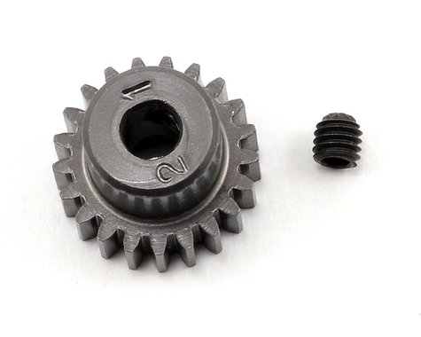 Schumacher 48P Hard Anodized Aluminum Pinion Gear (3.17mm Bore) (21T)