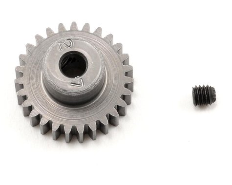 Schumacher 48P Hard Anodized Aluminum Pinion Gear (3.17mm Bore) (27T)