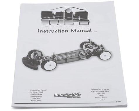 Schumacher Mi4 Instruction Manual