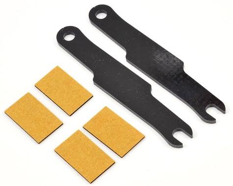 Schumacher S1 LiPo Battery Strap & Adhesive Pad Set