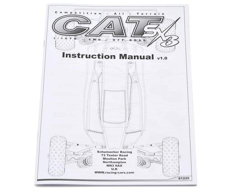 Schumacher Cat SX3 Instruction Manual