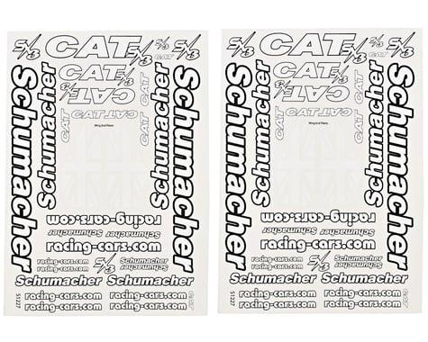 Schumacher Cat SX3 Decal Sheet Set (2)