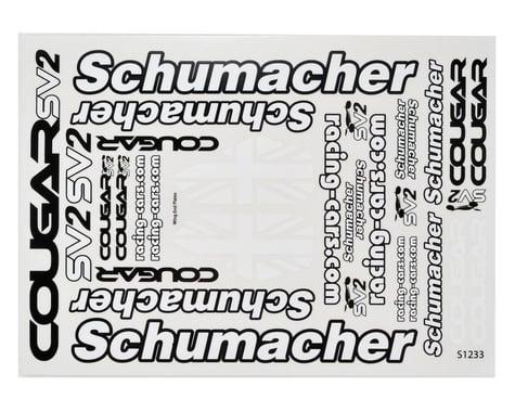 Schumacher Cougar SV2 Decal Sheet Set (2)