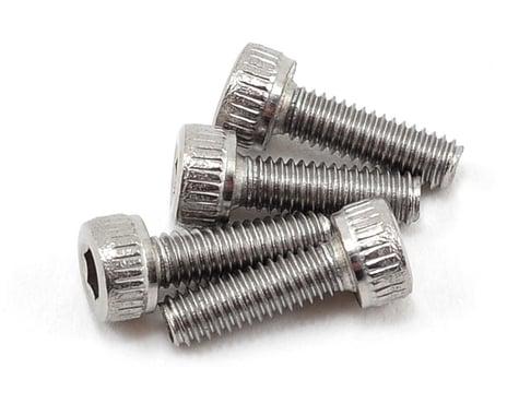 Schumacher 2.5x8mm Stainless Steel Cap Head Screw Speed Pack (4)