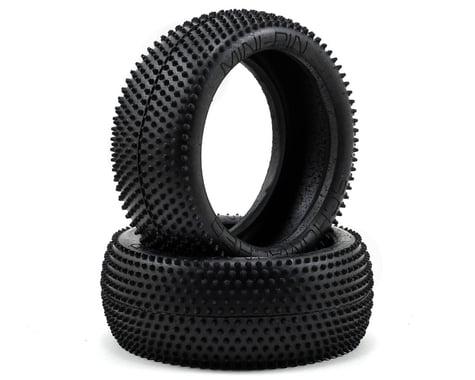 "Schumacher ""Mini Pin"" 1/8 Buggy Tires (2) (Silver)"