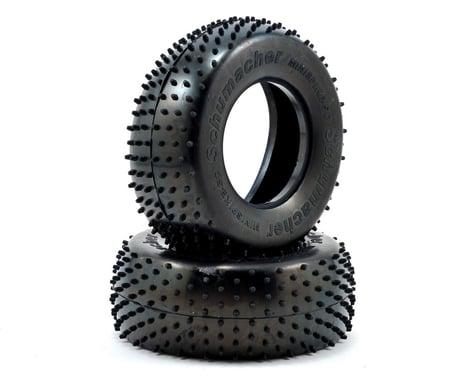"Schumacher ""Mini Spike"" Short Course Truck Tires (2) (Silver)"