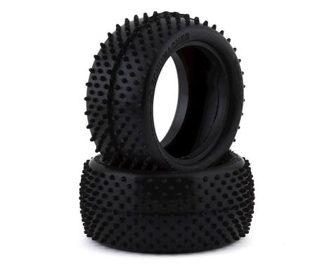 Schumacher Mezzo 1/10 Buggy Rear Carpet Tire (2) (Silver)