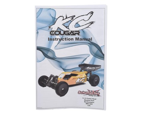 Schumacher Cougar KC Instruction Manual
