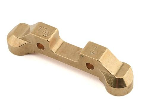 Schumacher Cougar Laydown Brass Rear Strap 3.0 (17g)