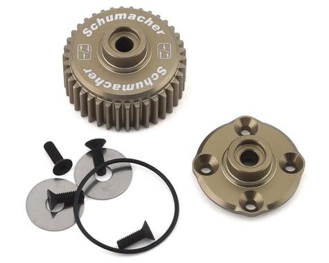 Schumacher Cougar Laydown/KD/KR Aluminum Gear Differential Conversion