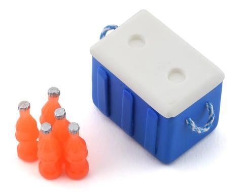 Sideways RC Scale Drift Cooler w/Bottles (Blue)