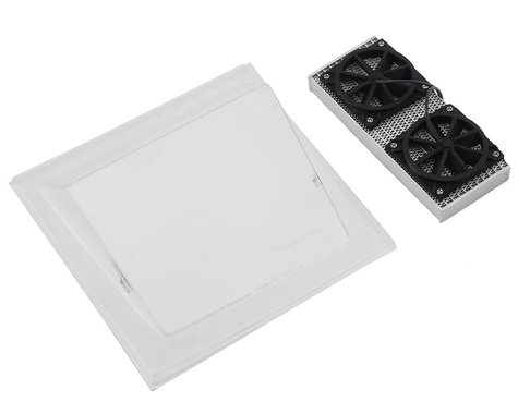 Sideways RC Scale Drift Rear Cooling Kit