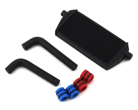 Sideways RC Scale Drift Full Intercooler Kit (Black) (Medium)