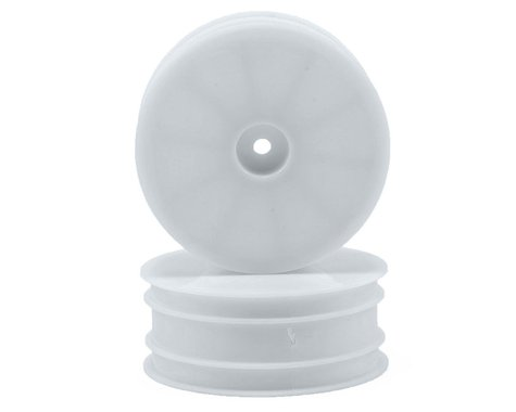 Serpent 12mm Hex 1/10 2WD Front Buggy Wheels (2) (SRX-2) (White)