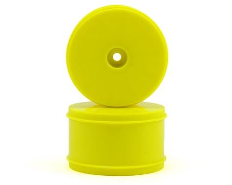 Serpent 12mm Hex 61mm 1/10 Rear Buggy Wheels (2) (SRX-2/SRX-4) (Yellow)