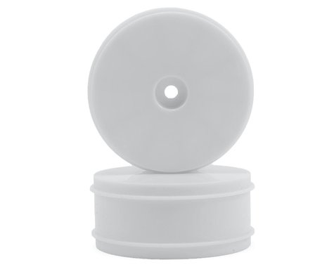 Serpent 12mm Hex 61mm 1/10 4WD Front Buggy Wheels (2) (SRX-4) (White)