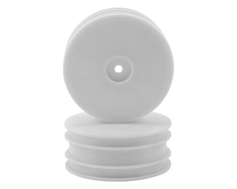 """Serpent 12mm Hex SDX4 2.2"""" 4WD Front Buggy Wheels (2) (White)"""