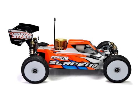 "Serpent SRX8 ""Cobra"" PRO 1/8 Nitro Buggy Kit"